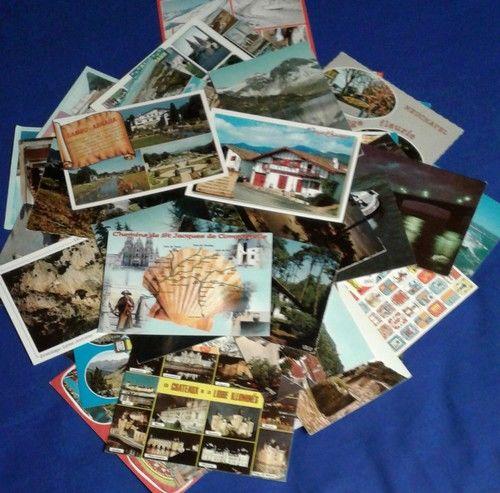cartes postales de France vierges à l'unité ou par lot