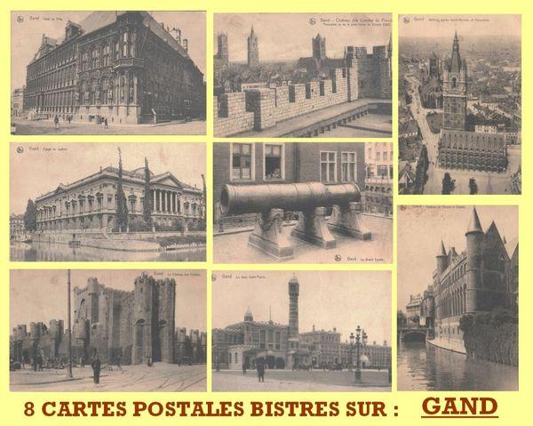 CARTES POSTALES - GAND / prixportcompris 10 Lille (59)