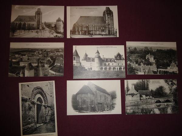 lot de 8 cartes postales MASSAY  CHER 12 Thaon-les-Vosges (88)