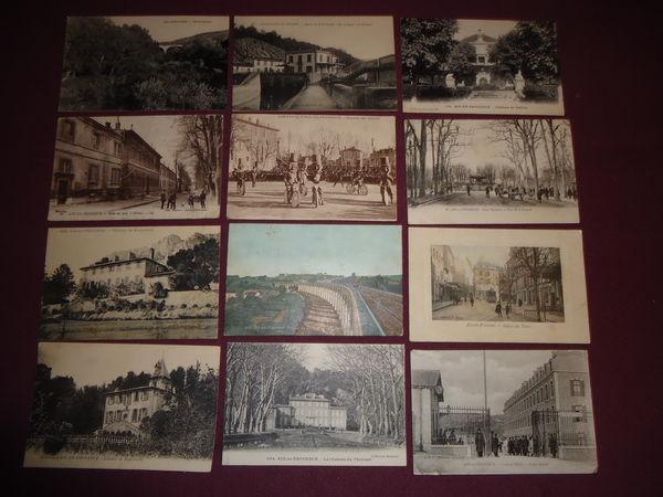 lot de 33 cartes postales AIX EN PROVENCE 1925 20 Thaon-les-Vosges (88)
