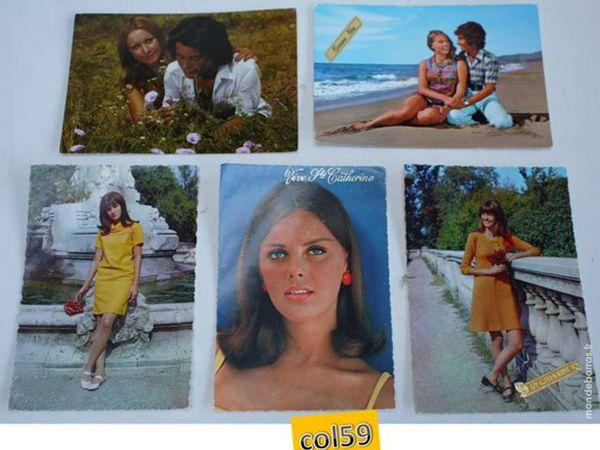 5 cartes postales VIVE STE CATHERINE - lot1 5 Mons-en-Barœul (59)