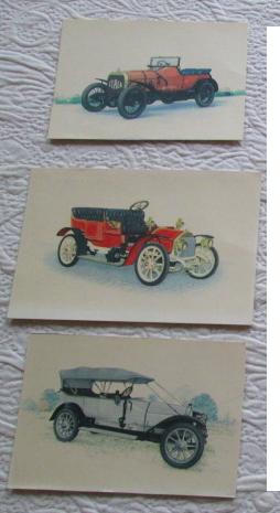 Cartes postales voitures anciennes 3 Herblay (95)