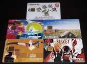 Cartes téléphoniques (le lot de 5 cartes) 5 Metz (57)