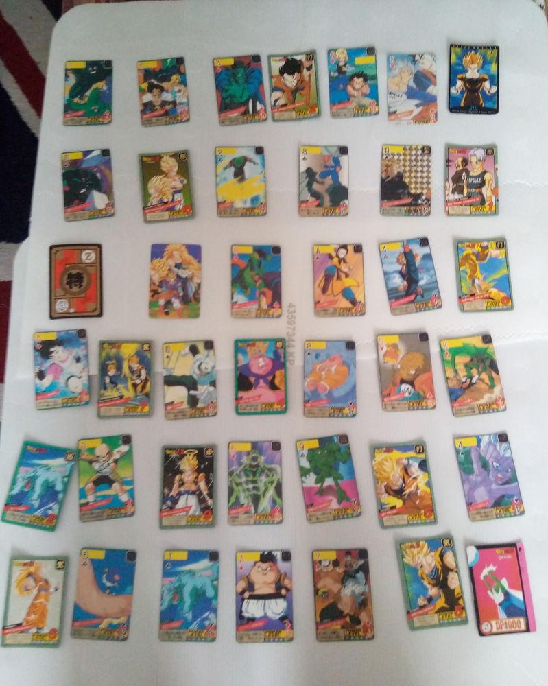 Cartes/trading cards dragon ball Z 45 Châlette-sur-Loing (45)