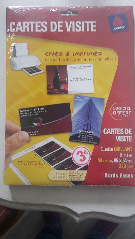Cartes de visite à imprimer 2 Annœullin (59)