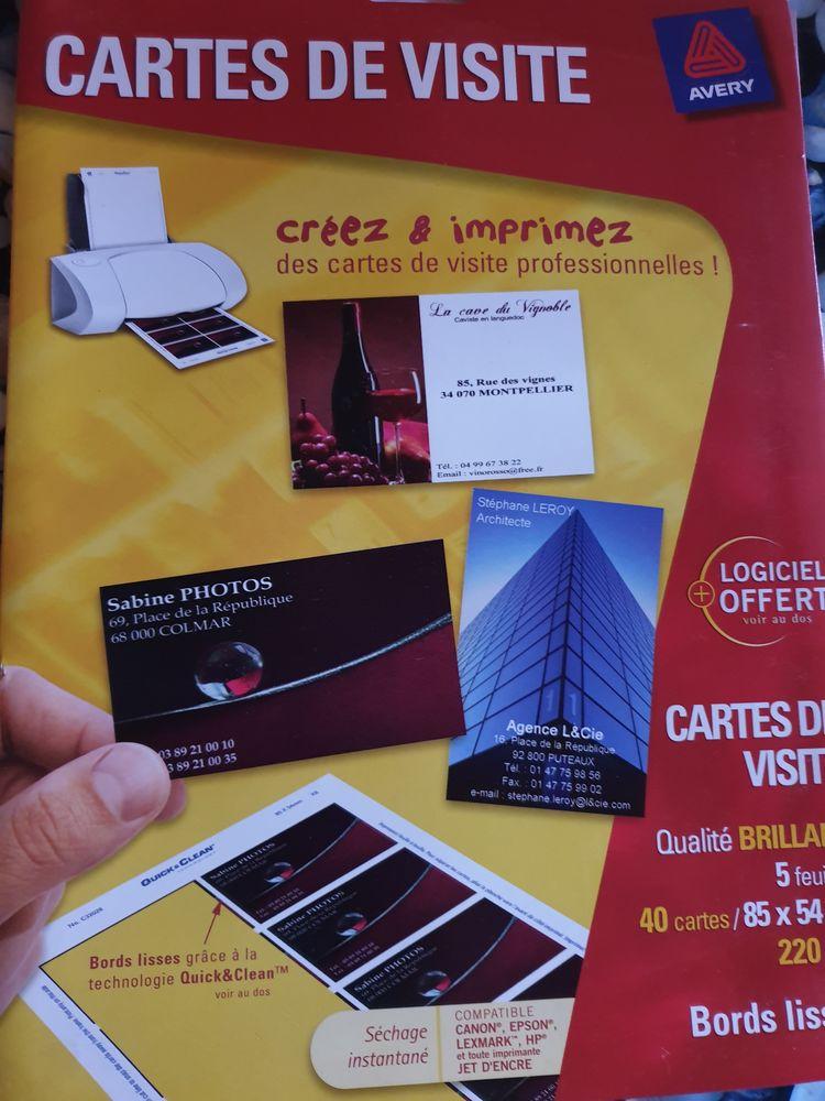 CARTES DE VISITES A FAIRE SOI MEME