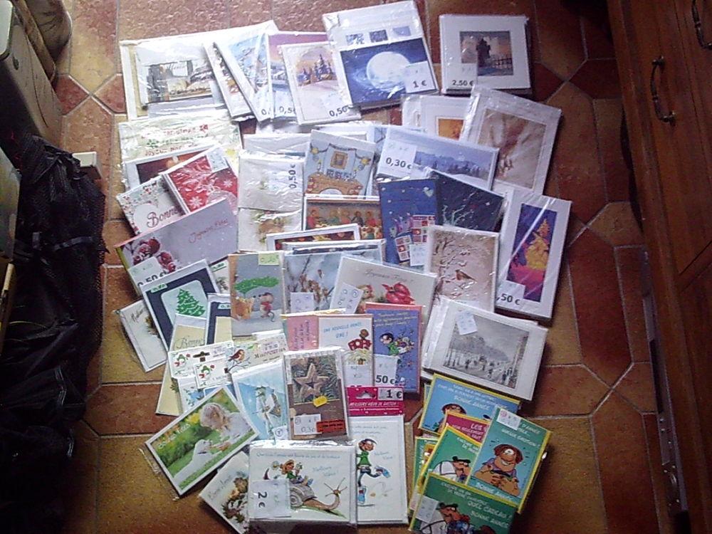 Cartes de Voeux Noël et Nouvel An -Neuves 1 Bouxwiller (67)