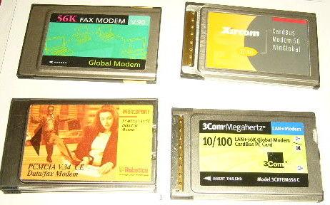 5 cartes WIFI PCMCIA ordinateur portable Matériel informatique