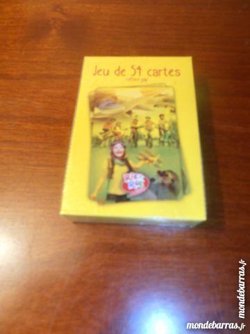 Jeu de 54 cartes (58) 2 Tours (37)