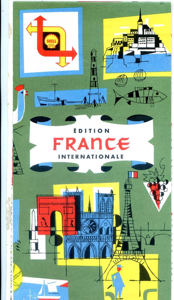 CARTOGUIDE SHELL FRANCE, 5 Rennes (35)