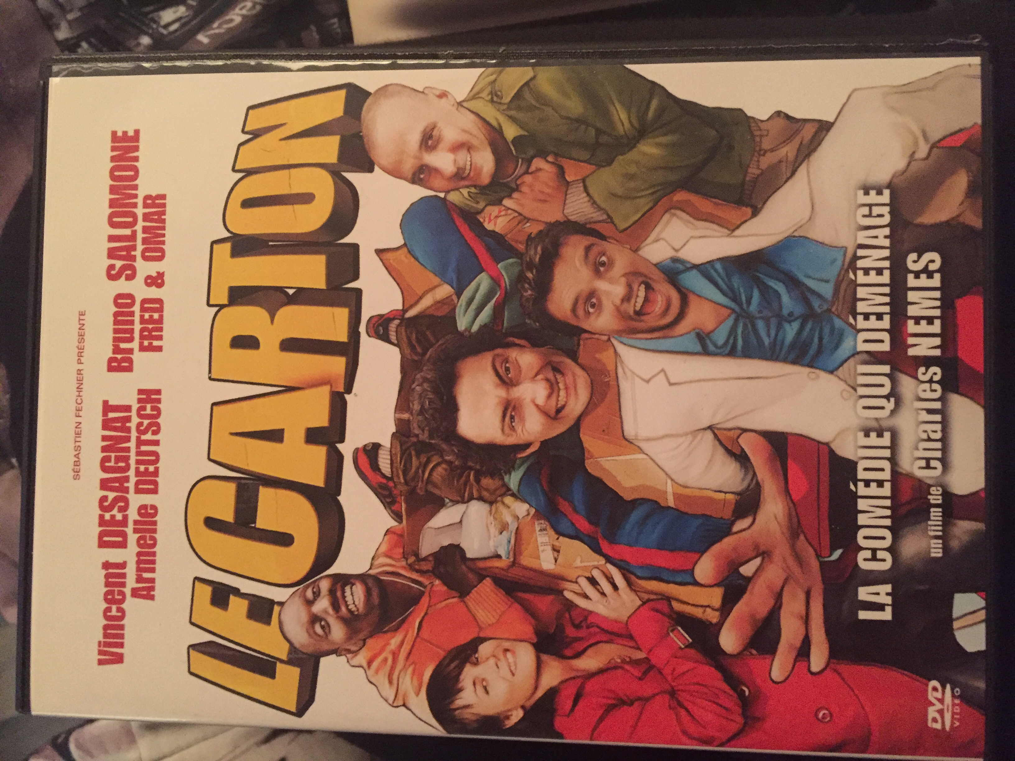 DVD Le carton 5 Alfortville (94)