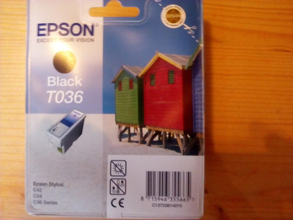 Cartouche Black T036 Epson Stylus C42 C46 series  10 Villefranche-de-Lauragais (31)