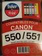 Cartouche CANON 550/551 neuve
