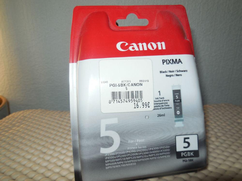 Cartouche d'encre  BLACK pour imprimante canon pixma 5 Sens (89)