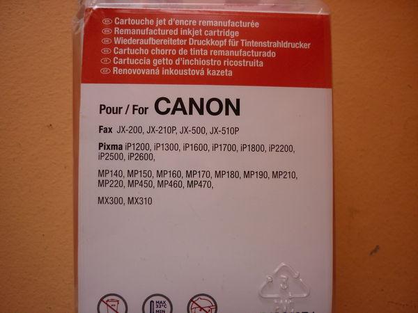 Cartouche d'encre CANON 10 Tours (37)