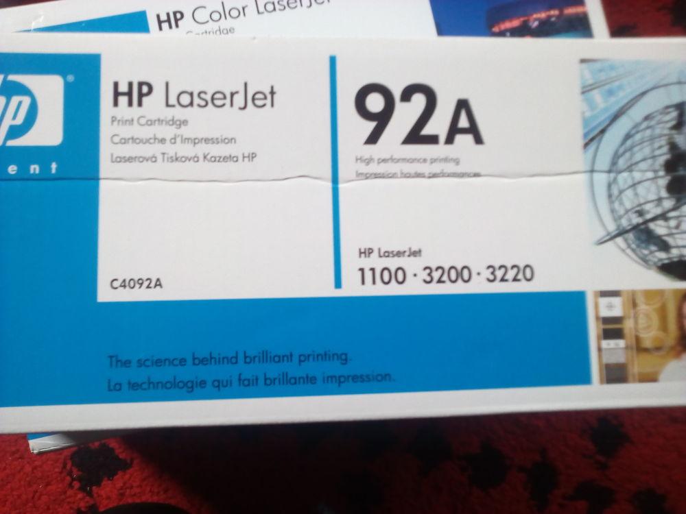 Cartouche HP Laser Jet Black 92A  40 Villefranche-de-Lauragais (31)