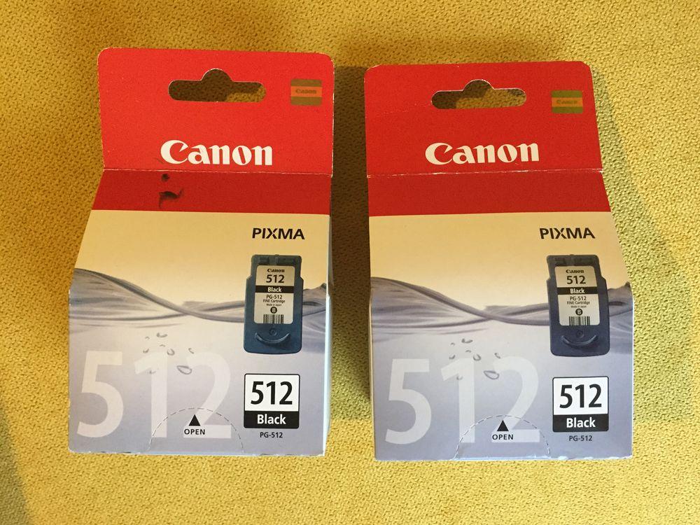 2 Cartouches CANON 512- COULEUR 38 Quimper (29)