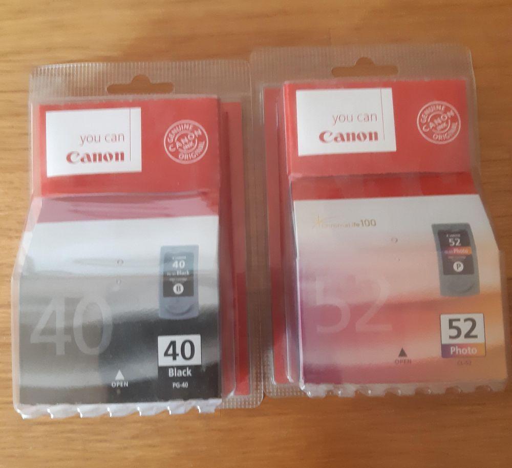 CARTOUCHES CANON 52 et 40 0 Saint-Sauveur (70)