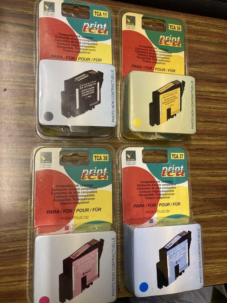 Lot de 4 cartouches compatibles Epson Stylus 20 Nimes (30)
