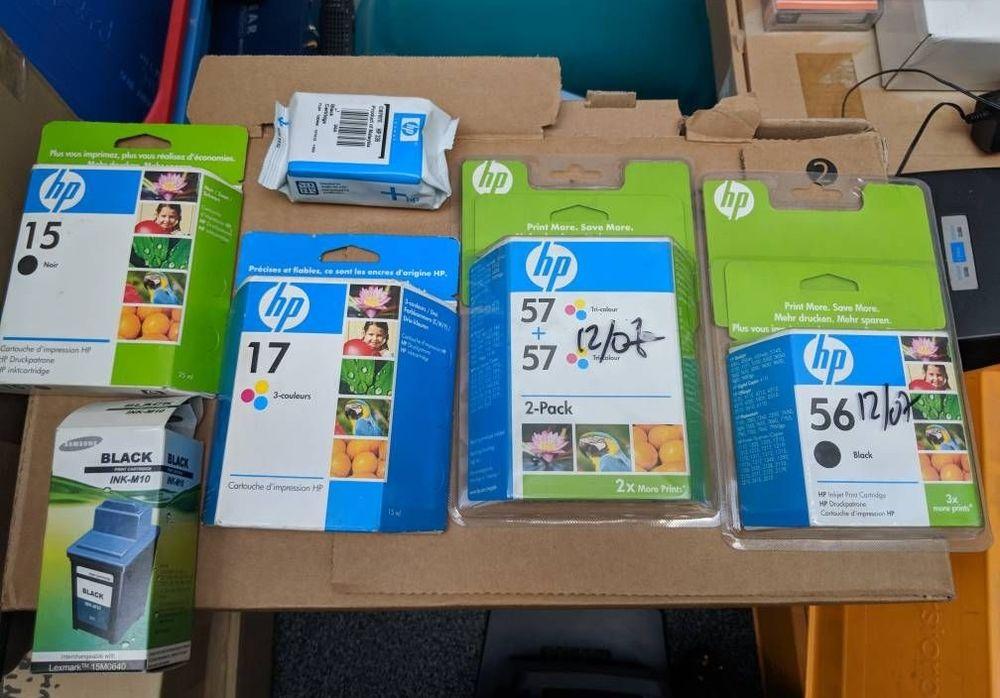Cartouches d'encre imprimante HP neuves 15 Joinville-le-Pont (94)