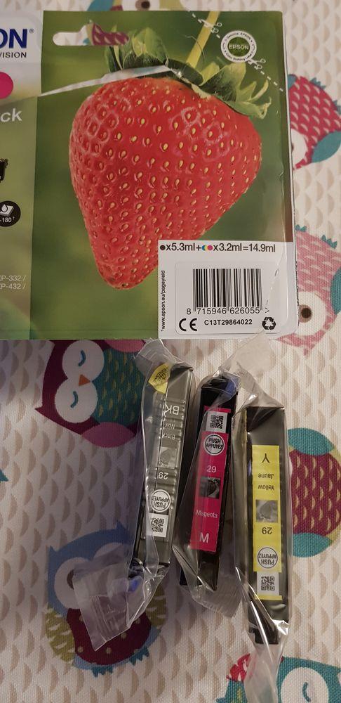 3 CARTOUCHES ENCRES EPSON VALEUR NEUVE 10€ LA CARTOUCHE 11 Wissous (91)