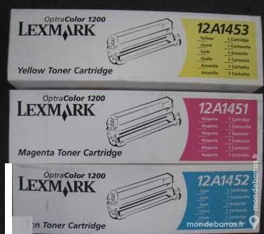 Cartouches toner LEXMARK Optra color 1200 20 Beauchamp (95)
