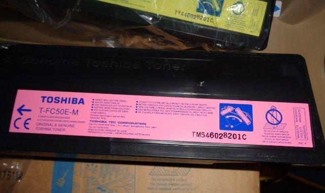 Cartouches Toner Toshiba T-FC50E-M / T-FC50E-Y 30 Enval (63)