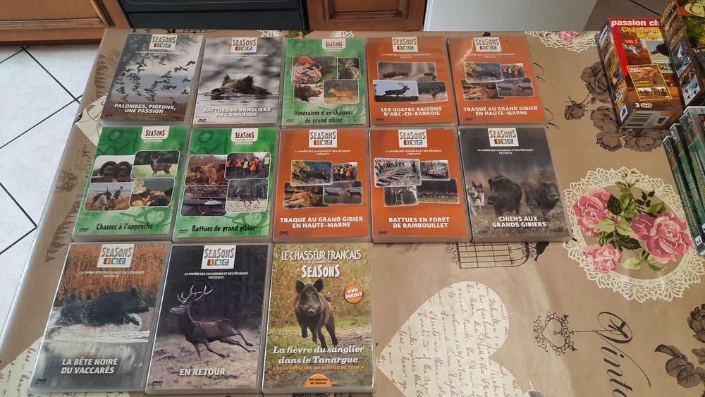 lot de DVD et Casette de chasse 0 Sarrey (52)