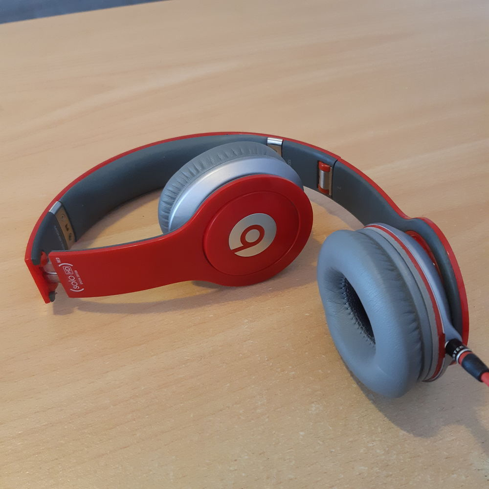 Casque Beat by dr. Dre - Solo HD (PRODUCT) Red - Filaire 59 Lesquin (59)
