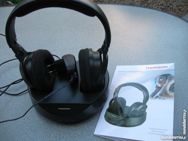 casque sans fil thomson vhp3001bk Audio et hifi