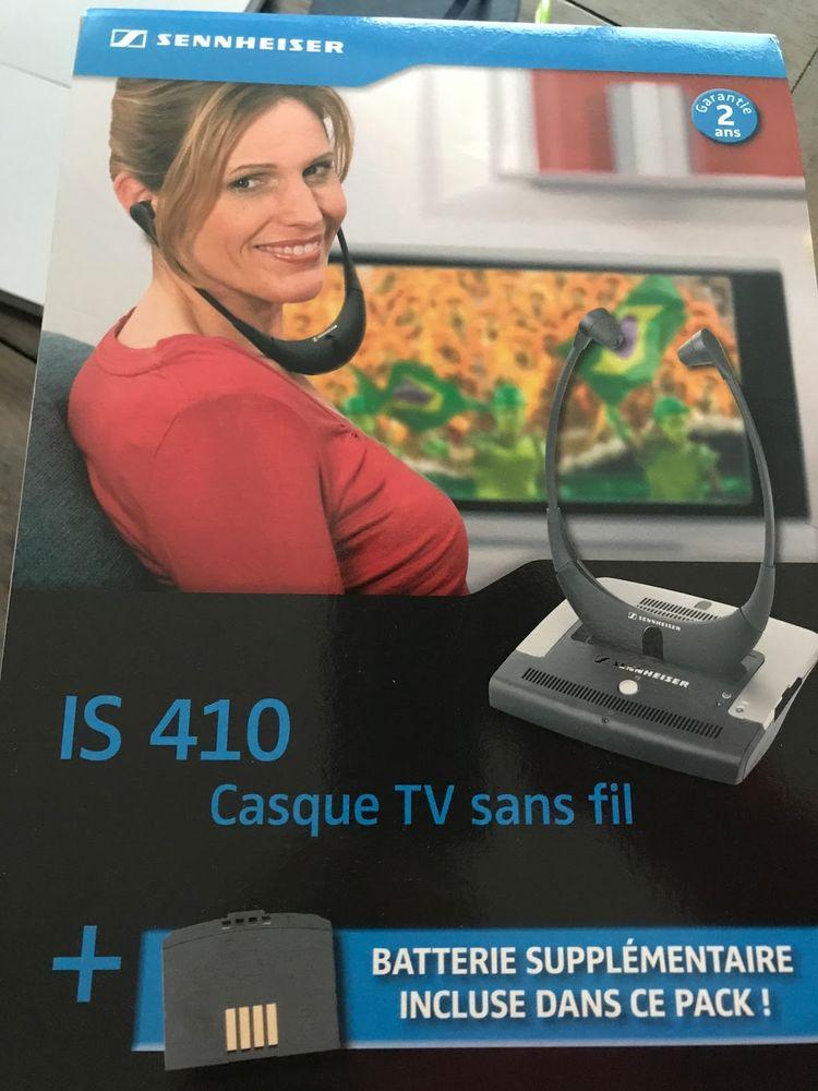 Casque TV Sennheiser sans fil IS410 + BA300 80 Boulogne-Billancourt (92)