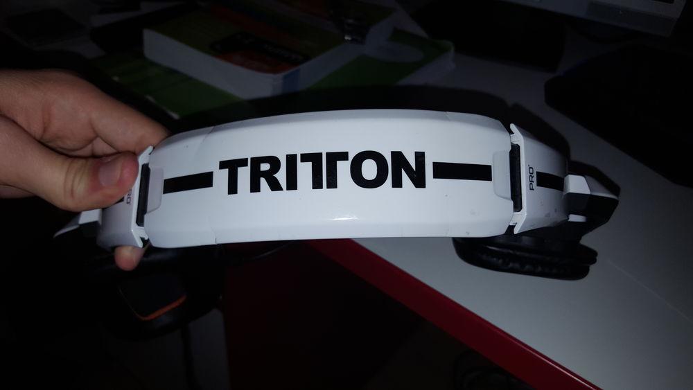 Casque Tritton Pro + Consoles et jeux vidéos