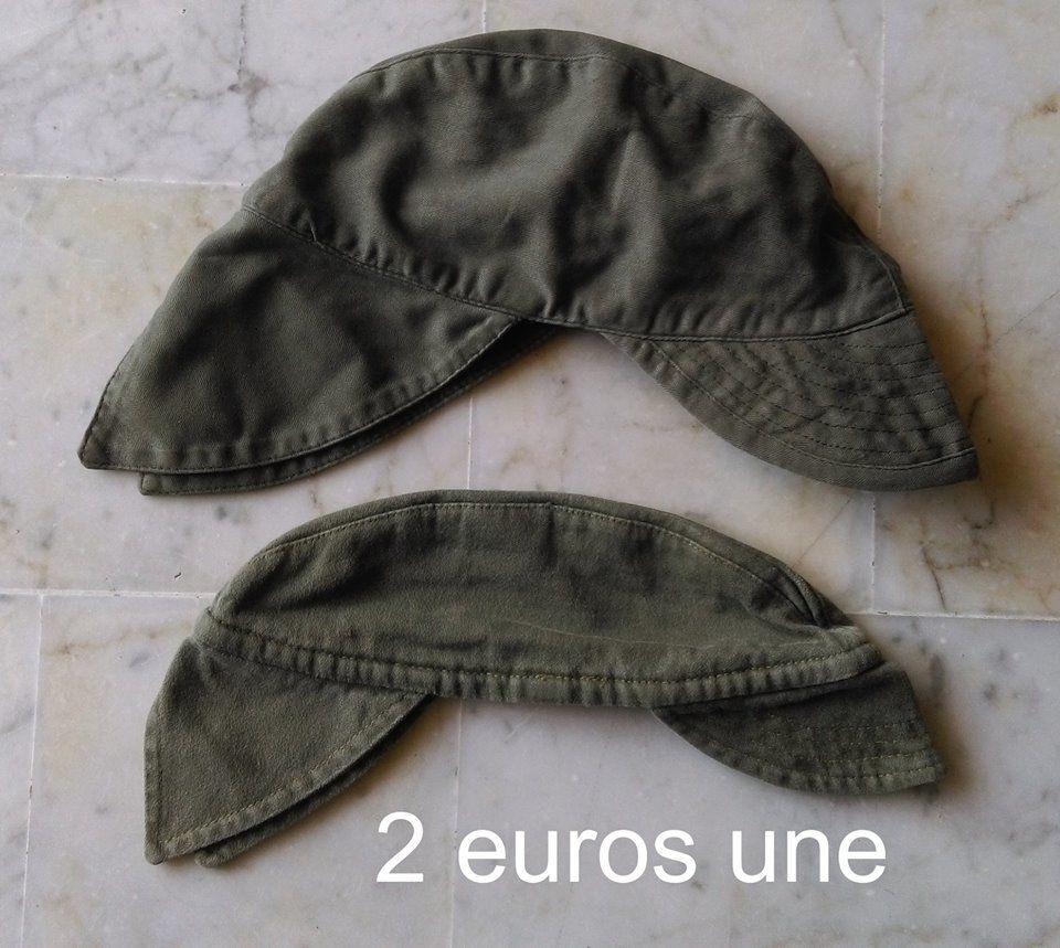 Casquette Bigeard armée Française avec nuquière, tour de têt 2 Marseille 9 (13)
