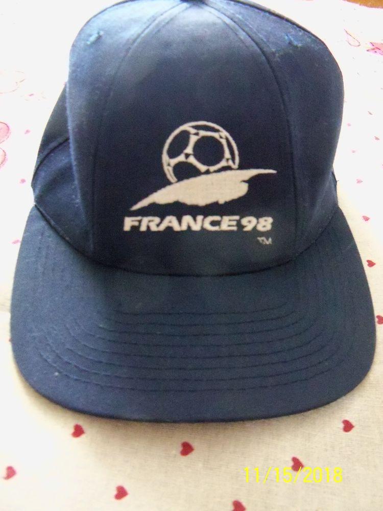 CASQUETTE FRANCE 98 10 Saffré (44)