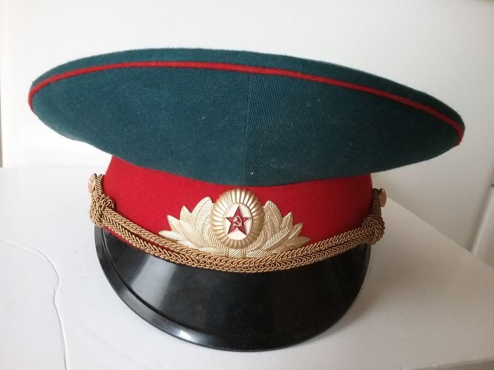 Casquette d'officier RUSSE  45 Courbevoie (92)