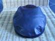 Casquette Plate En Cuir Noir Homme Taille 56