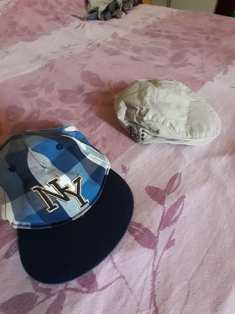Lot de 2 casquettes garçon 6-9 mois 4 Grisolles (82)