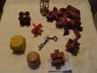 Lot de casse tête bois et métal Jeux / jouets
