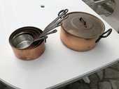 Casserole et faitout en cuivre 150 Villiers-le-Morhier (28)
