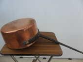 lot de 2 casseroles anciennes en cuivre 45 Amélie-les-Bains-Palalda (66)