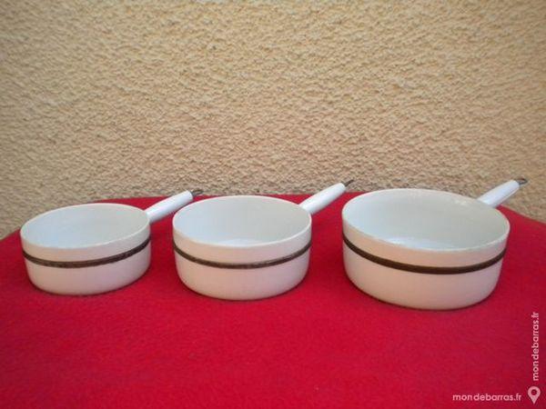 3 CASSEROLES céramique émaillée 29 Dammarie-les-Lys (77)