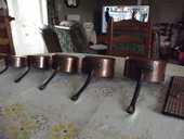Casseroles en cuivre de VILLEDIEU LES POELES 0 Beauregard (46)