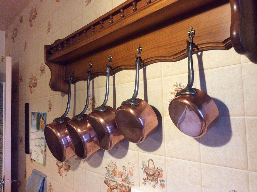 casseroles cuivre Décoration