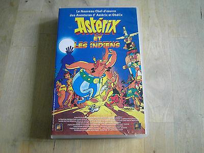 Cassette VHS Asterix & les indiens 5 Ploemeur (56)