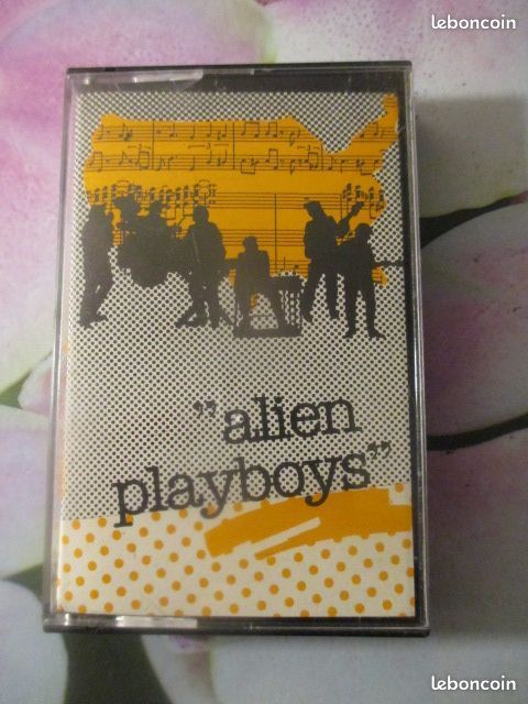 Cassette audio Alien Playboys  12 Hérouville-Saint-Clair (14)