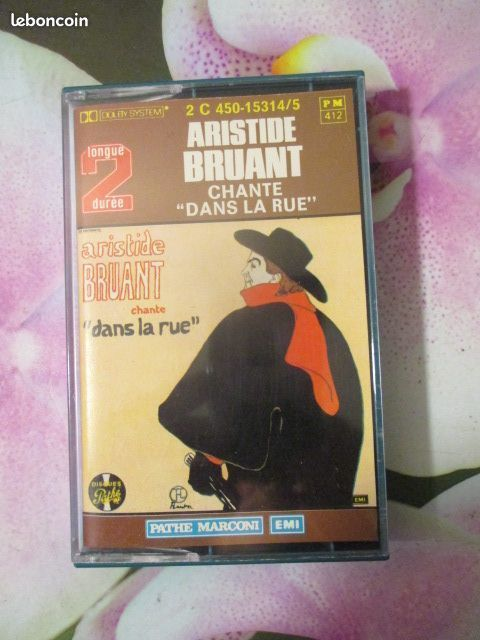 Cassette audio Aristide Bruant  4 Hérouville-Saint-Clair (14)