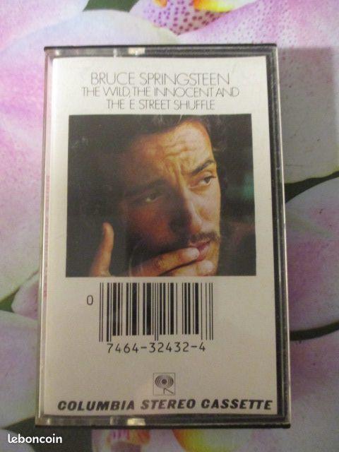 Cassette audio Bruce Springsteen 5 Hérouville-Saint-Clair (14)