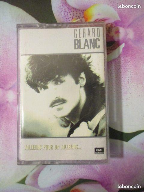 Cassette audio Gérard Blanc CD et vinyles