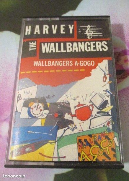 Cassette audio Harvey & The Wallbangers 5 Hérouville-Saint-Clair (14)