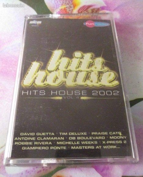 Cassette audio Hits House 2002 5 Hérouville-Saint-Clair (14)